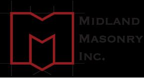 Midland Masonry, Inc. Logo