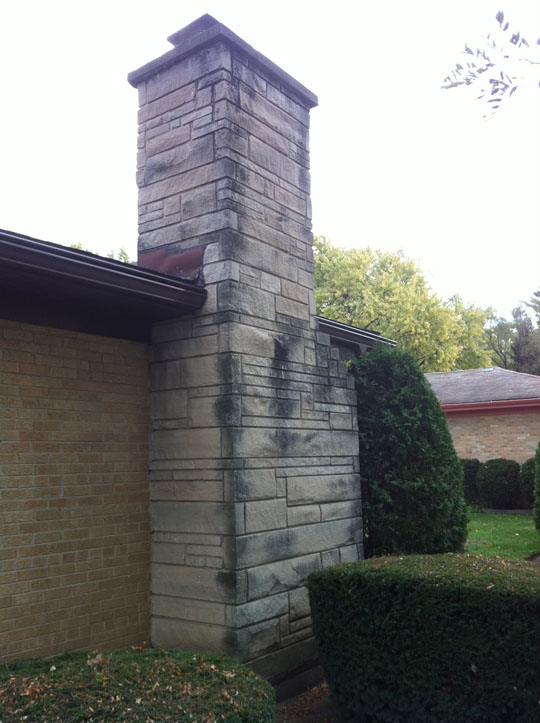 Chimney Tuck Pointing Looks Brand New Midland Masonry