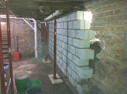 cement foundation basement water leak repair cost chicago elmhurst
