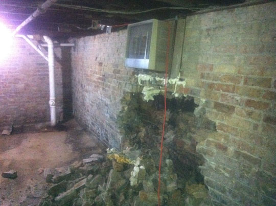 Cement Foundation Basement Water Leak Repair Cost Chicago