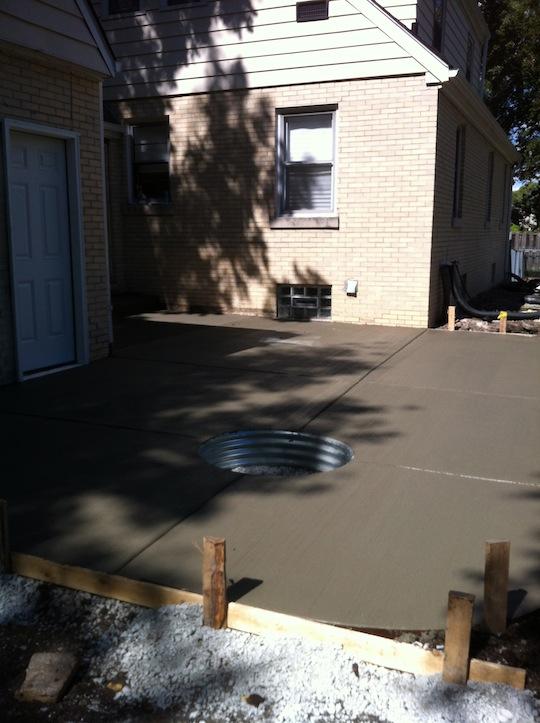 concrete-porch-custom-fire-pit-hinsdale-illinois-after
