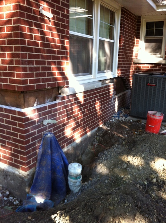 Oak Park River Forest Illinois Brick Wall Repair And