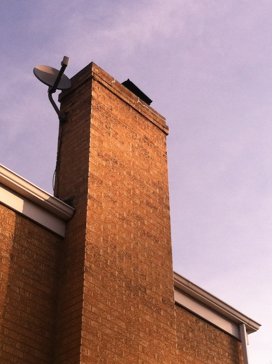 Westchester Illinois Brick Chimney Repair With Tuck