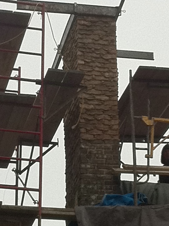 Riverside Brookfield Illinois Brick Chimney Repair With
