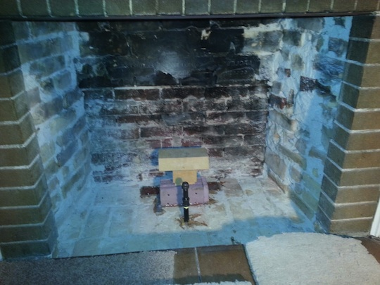 Oak Park Lagrange Illinois Brick Fireplace Rebuild Brick