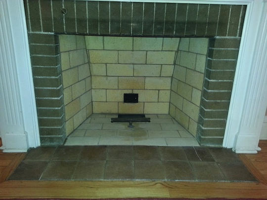 Oak Park Lagrange Illinois Brick Fireplace Rebuild Brick Staining Midland M