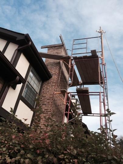 Chimney Tuck Pointing Masonry Restoration Concrete Burr Ridge Bensenvilla Melrose Park Westmont Roselle Woodridge