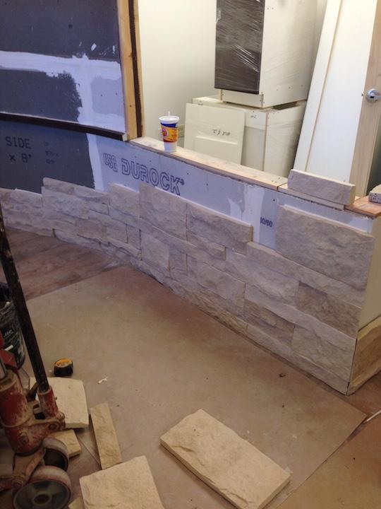 Installing Stone Veneers : Forest park illinois midland masonry