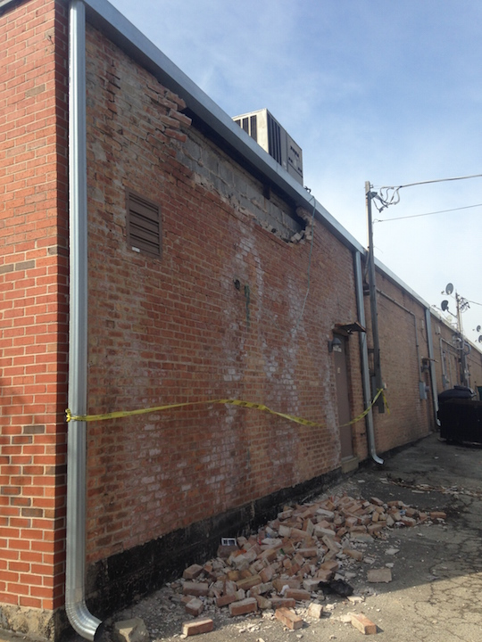 Masonry Brick Wall Repair