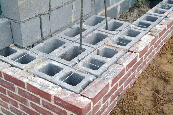 Construction cost for new masonry block chicago illinois for Brick home construction costs
