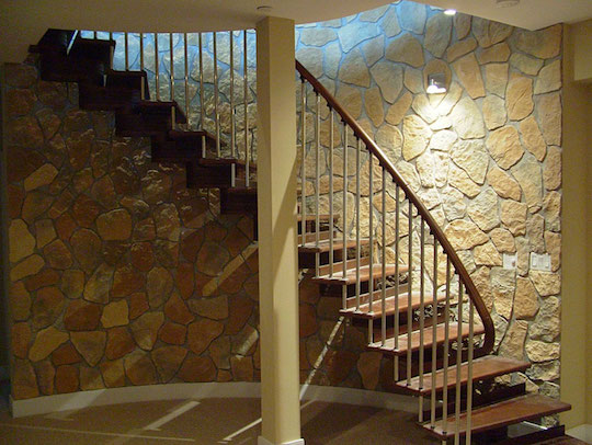 Natural Cut Stone Installation