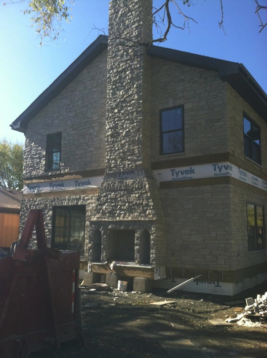 Masonry concrete tuck pointing chimney repair cost for Brick home construction costs